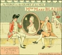 An Elegy on the Glory of Her Sex, Mrs Mary Blaize