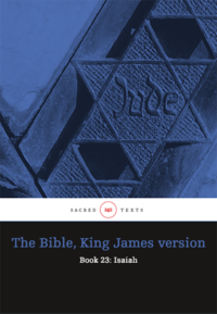 The Bible King James version - Book 23: Isaiah