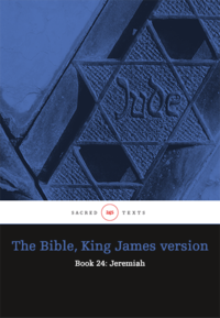 The Bible King James version - Book 24: Jeremiah