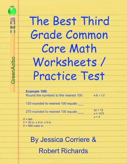 Math worksheets for 3rd grade common core
