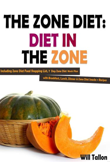 Food Book Cover Zone ~ Eating plan for the zone diet coloradogala