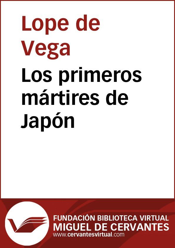 Los primeros mártires de Japón - cover