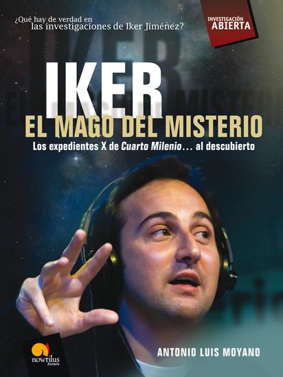 Iker El mago del misterio - cover