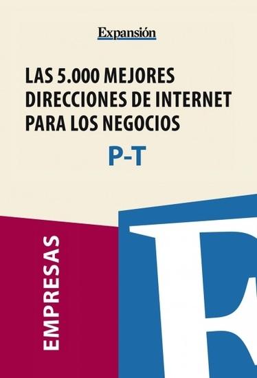 Sectores P-T - Las 5000 mejores direcciones de internet para los negocios - cover