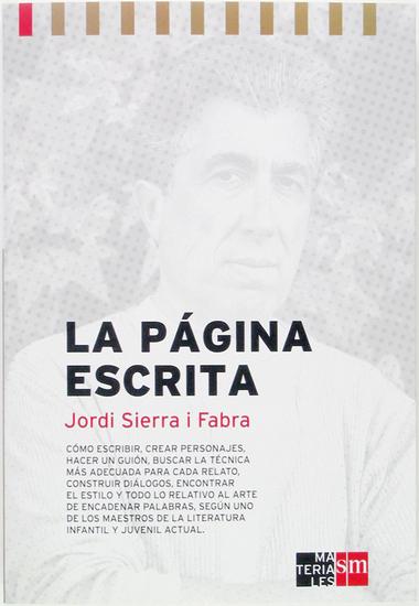 La página escrita Manual de escritura - cover