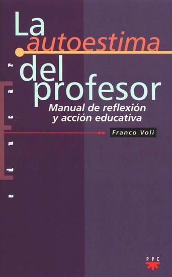 La autoestima del profesor - cover