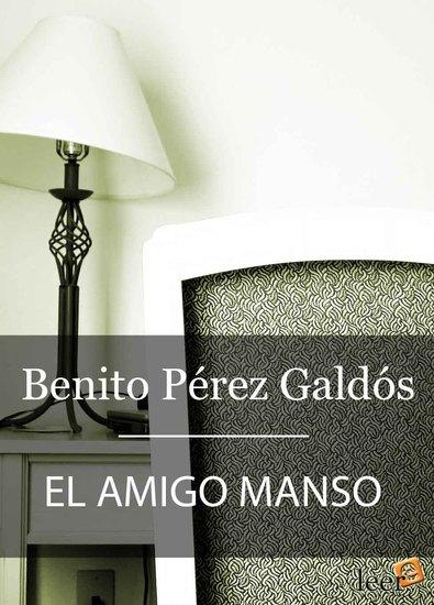 El amigo Manso - cover