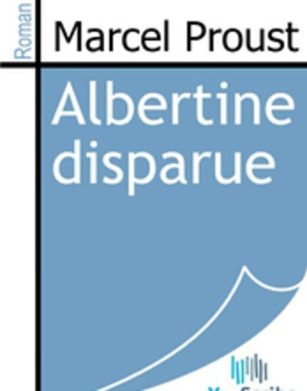 Albertine disparue - cover