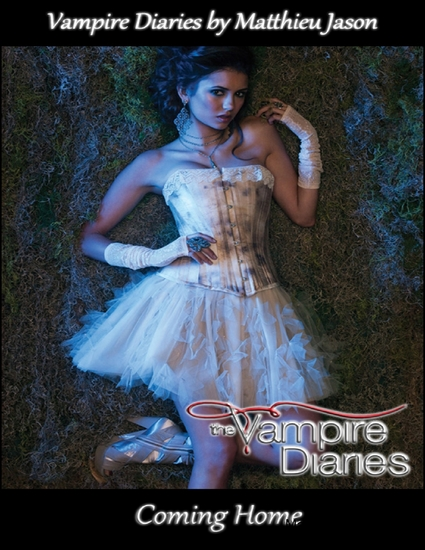 Vampire Diaries - Coming Home - cover