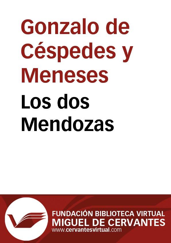 Los dos Mendozas - cover