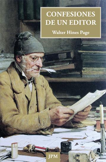 Confesiones de un editor - cover