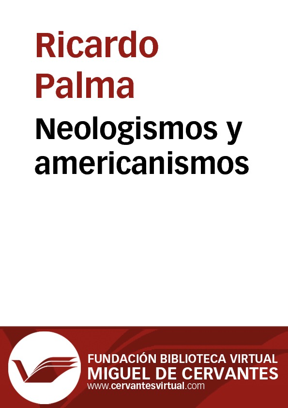Neologismos y americanismos - cover