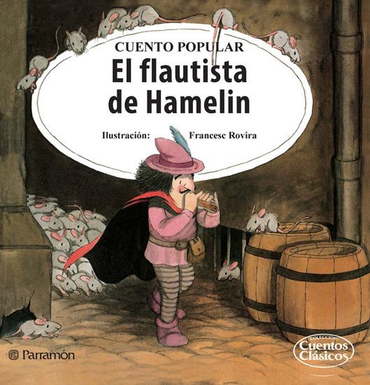 El flautista de Hamelin - cover