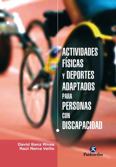 Actividades física y deportes adaptados para personas con discapacidad - cover