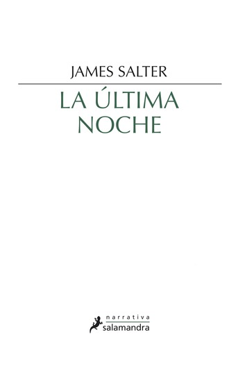 La última noche - cover