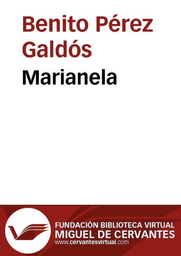 Marianela - cover