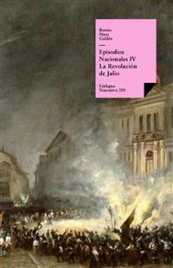 Episodios nacionales IV La Revolución de Julio - cover