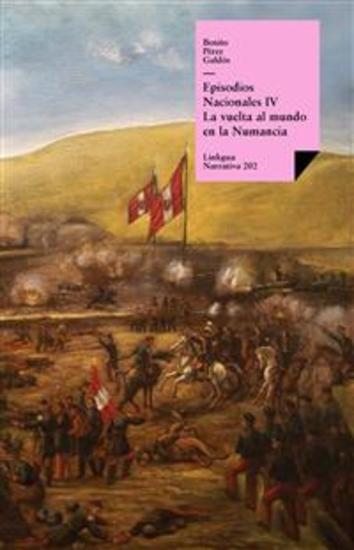 Episodios nacionales IV La vuelta al mundo en la «Numancia» - cover