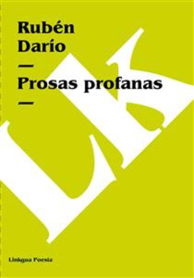 Prosas profanas - cover