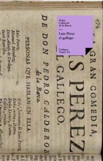 Luis Pérez el gallego - cover