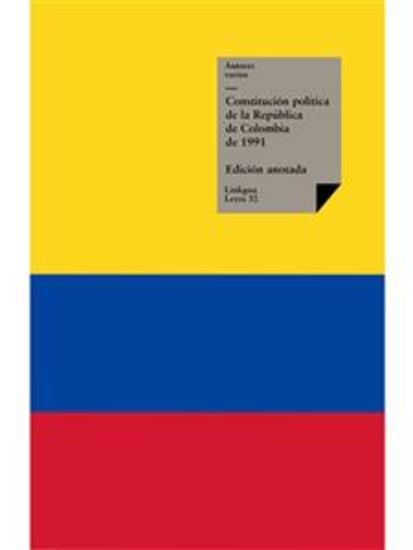 Constitución política de la República de Colombia de 1991 - cover
