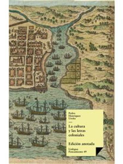 La cultura y las letras coloniales en Santo Domingo - cover