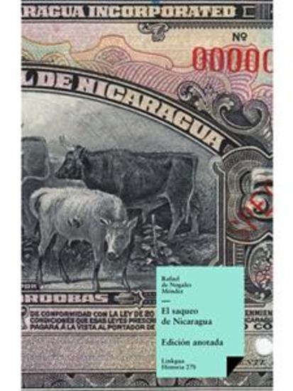 El saqueo de Nicaragua - cover