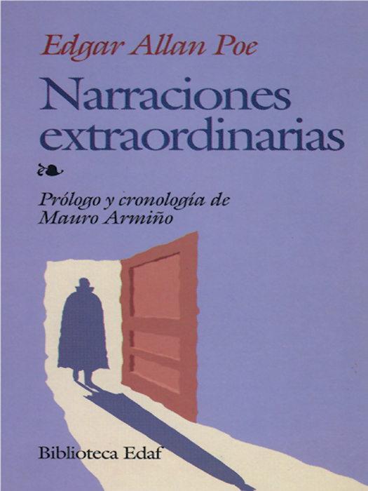 Narraciones extraordinarias - cover