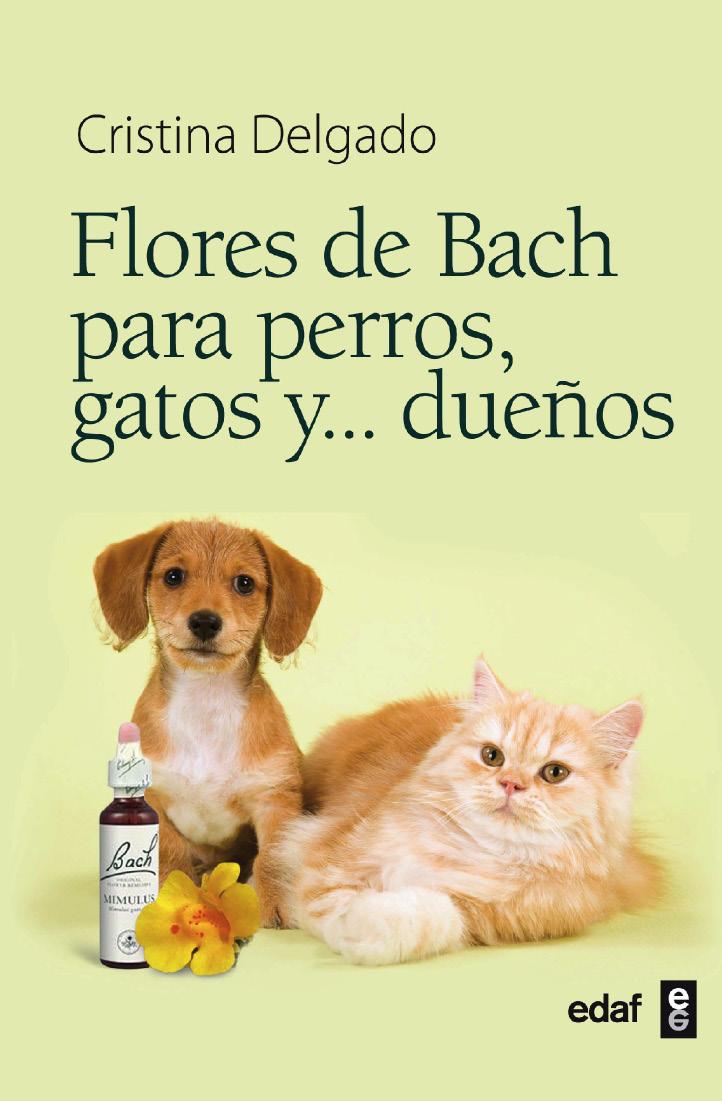 Flores de Bach para perros, gatos y dueños - cover