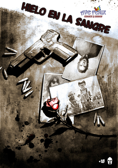 Hielo en la sangre - violencia y sexo - cover
