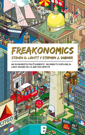 freakonomics by steven d levitt Instead, it's more about the seemingly diffuse academic work of one of the authors steven d levitt (the other author is a journalist, stephen j dubner) freakonomics by stephen d levitt - starting feb 13th 2018: 10 16.