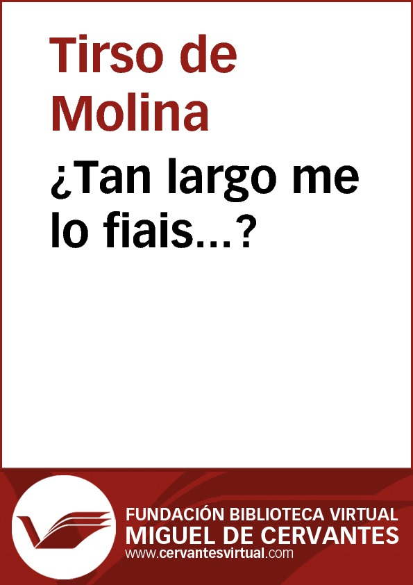 ¿Tan largo me lo fiais? - cover