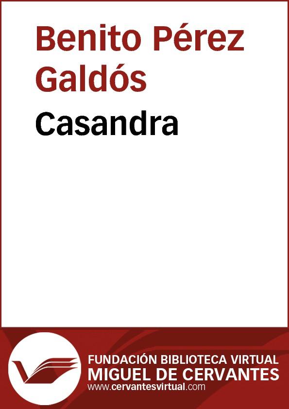 Casandra - cover