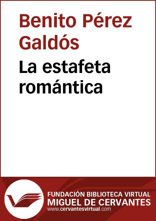 La estafeta romántica - cover