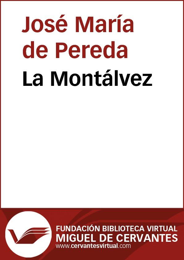 La Montálvez - cover