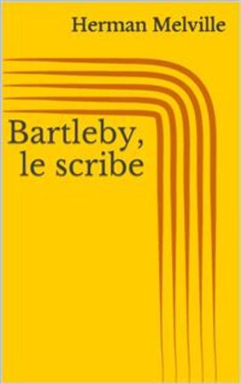 Bartleby le scribe - cover