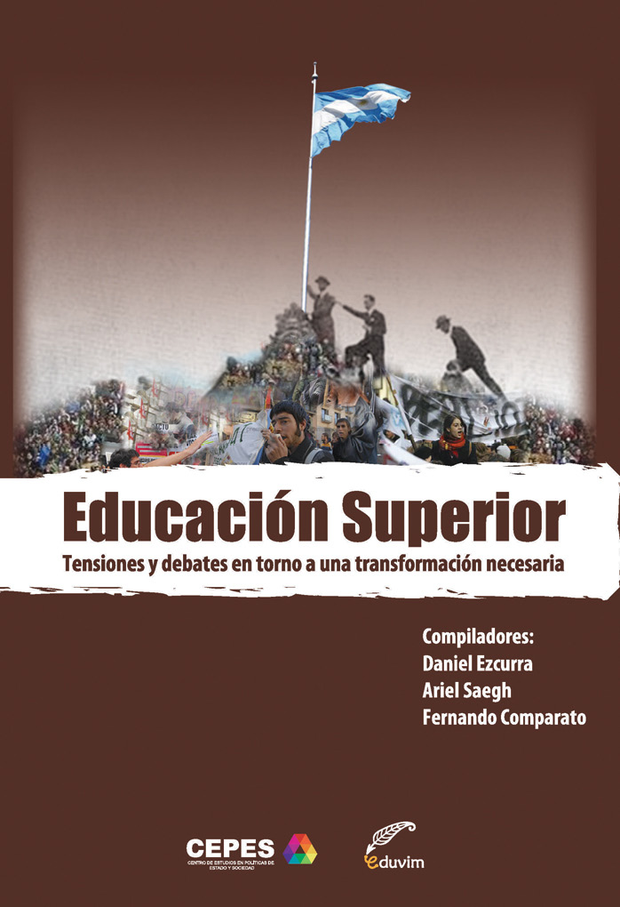 Educación Superior - Tensiones y debates en torno a una transformación necesaria - cover