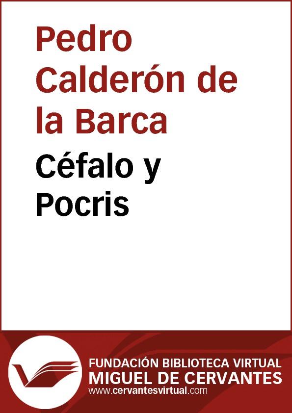 Céfalo y Pocris - cover