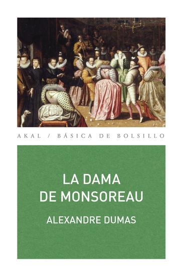 La dama de Monsoreau - cover