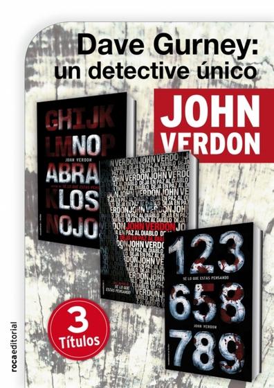 Pack David Gurney - cover