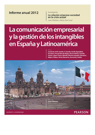 Informe Anual 2012 - cover