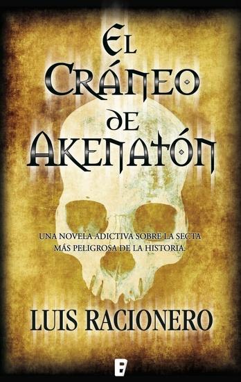 El cráneo de Akenatón - cover