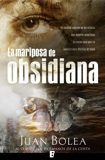 La mariposa de Obsidiana - cover