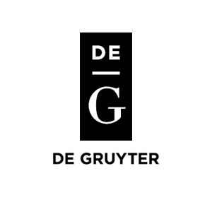 Publisher: De Gruyter