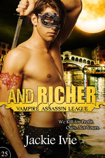 And Richer - Vampire Assassin League #25 - cover