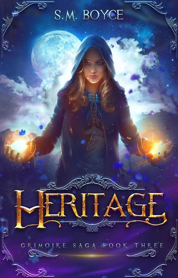 Heritage (Grimoire Saga #3) - Grimoire Saga #3 - cover