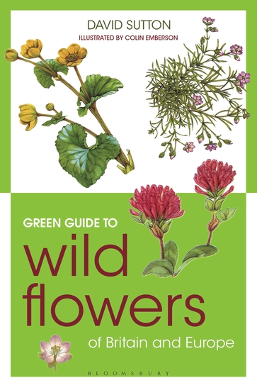 Green Guide to Wild Flowers Of Britain And Europe - cover