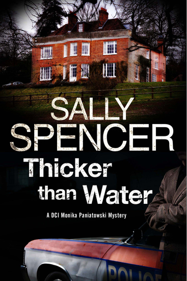 Thicker Than Water - A Monika Paniatowski British police procedural - cover