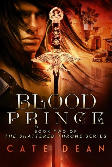 Blood Prince - Shattered Throne #2 - cover