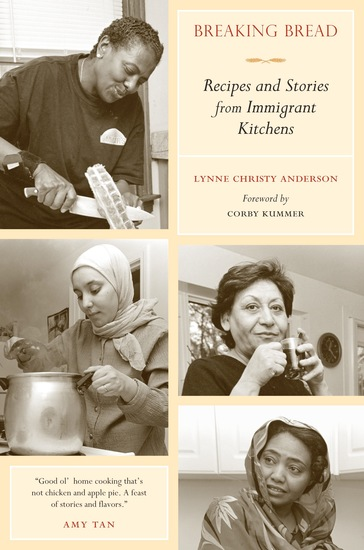 Breaking Bread - Recipes and Stories from Immigrant Kitchens - cover